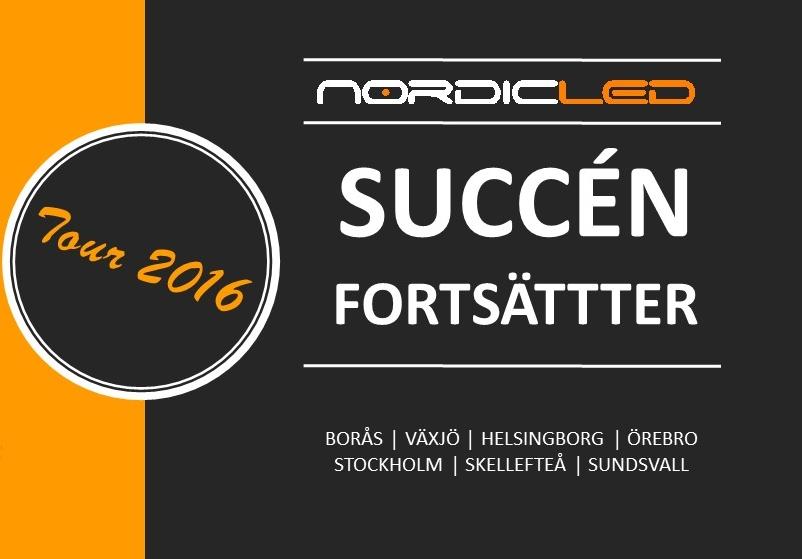 Succén fortsätter – Nordic LED Tour 2016