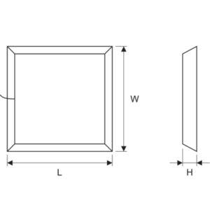OPTIMUM Domo LED 60×60