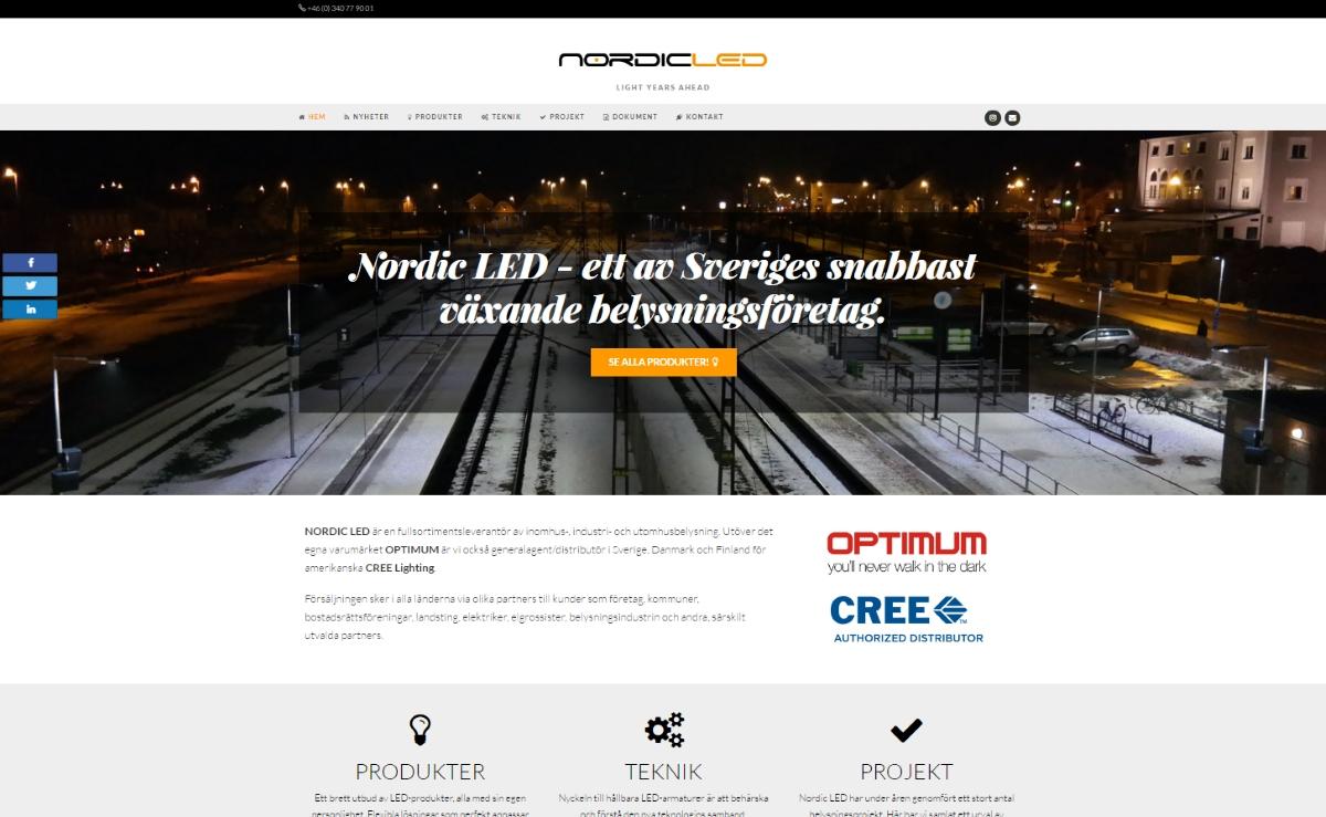 Nu har vi släppt vår nya sajt!