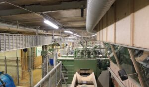 Industribelysning Derome Timber